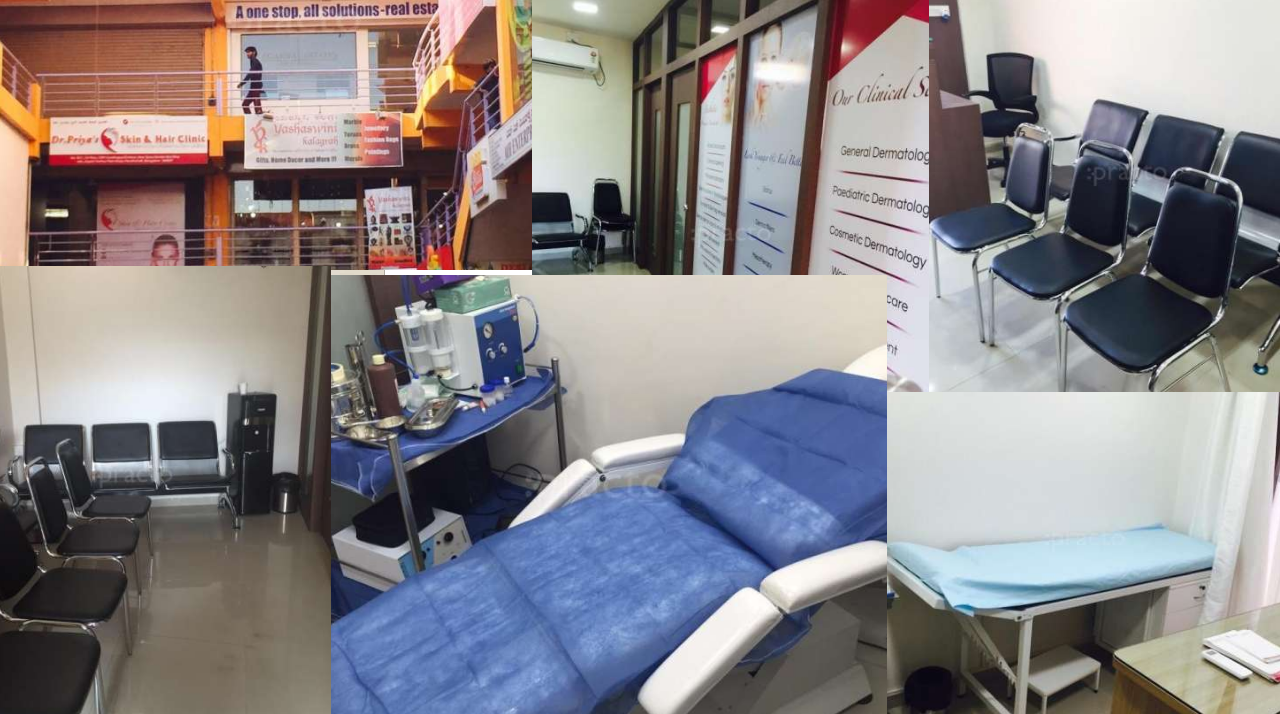 Dr Priya skin and hair clinic Bangalore